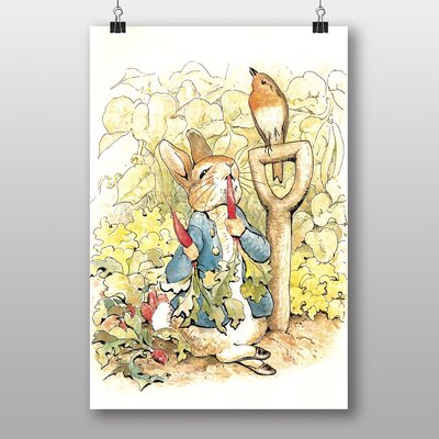 Big Box Art 'Peter Rabbit No.4' by Beatrix Potter Graphic Art