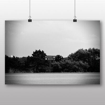 Big Box Art 'Beaches Road Sign' Photographic Print