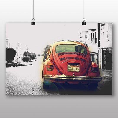 Big Box Art Beetle Vintage Classic Car Photographic Print