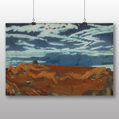 Big Box Art 'Earth's Throat Edge' by Arthur Bowen Davies Art Print