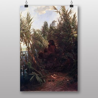 Big Box Art Pan in the Reed by Arnold Bocklin Art Print