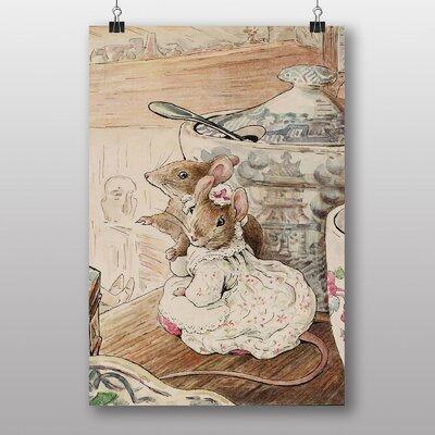 "Big Box Art ""The Mice at Work"" by Beatrix Potter Art Print on Canvas"