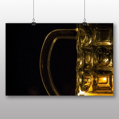 Big Box Art Beer Glass No.1 Photographic Print