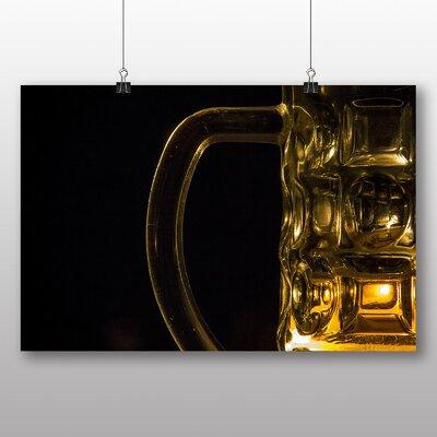 Big Box Art Beer Glass No.1 Photographic Print on Canvas