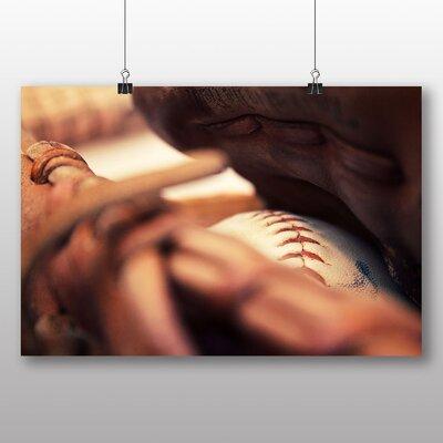 Big Box Art Baseball Glove and Ball No.2 Photographic Print