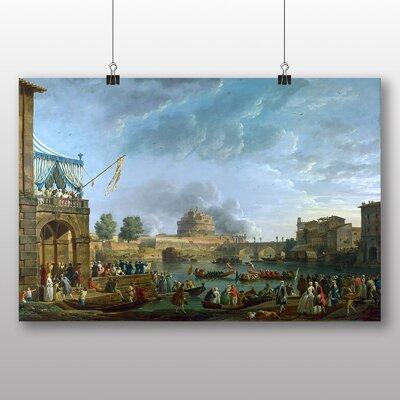 Big Box Art 'Festival Day' by Bernardo Bellotto Canaletto Art Print