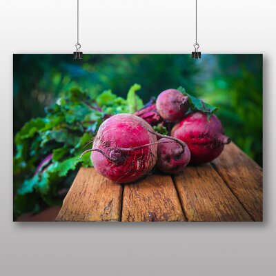 Big Box Art Beetroot Photographic Print on Canvas