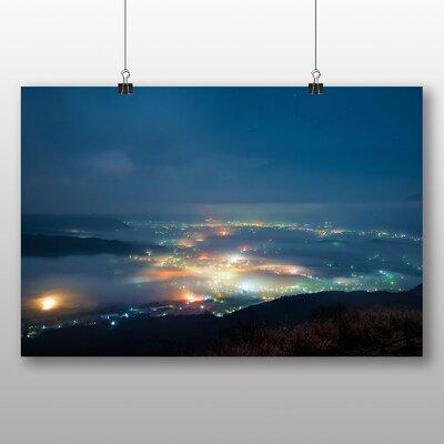 Big Box Art Aso Kumamoto Japan Clouds No.6 Photographic Print