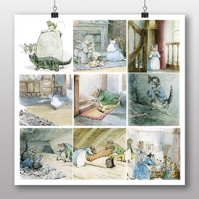 Big Box Art 'The Tale of Samuel Whiskers' by Beatrix Potter Graphic Art