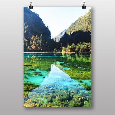 Big Box Art Beautiful Lake Photographic Print on Canvas