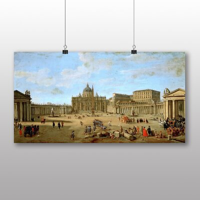 Big Box Art 'Wittel' by Bernado Bellotto Canaletto Art Print