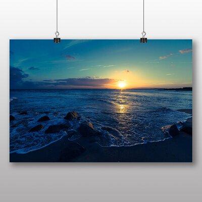 Big Box Art Beautiful Sunset No.2 Photographic Print on Canvas