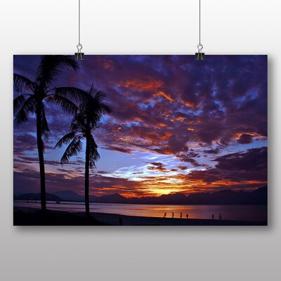 Big Box Art Beach Sunset No.2 Photographic Print on Canvas