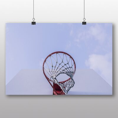 Big Box Art 'Basketball Hoop' Photographic Print