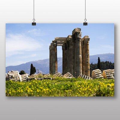 Big Box Art Athens Greece No.2 Photographic Print on Canvas