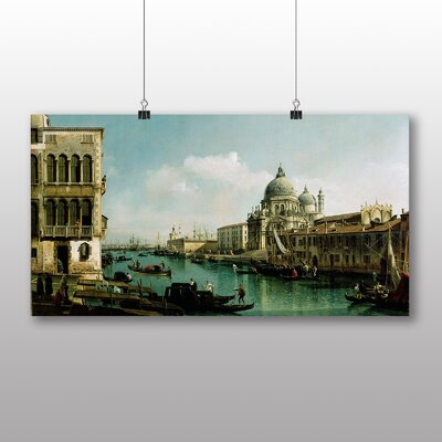 Big Box Art 'View of the Grand Canal' by Bernado Bellotto Canaletto Art Print
