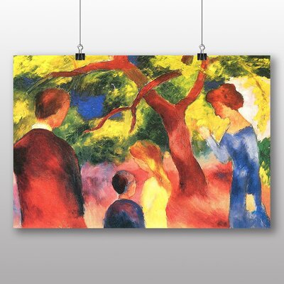 Big Box Art 'Family' by August Macke Art Print