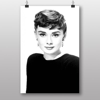 Big Box Art Audrey Hepburn No.5 Photographic Print on Canvas