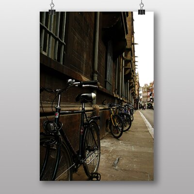 Big Box Art Bicycles Street Cambridge Photographic Print