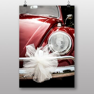 Big Box Art Beetle Vintage Classic Car No.4 Photographic Print