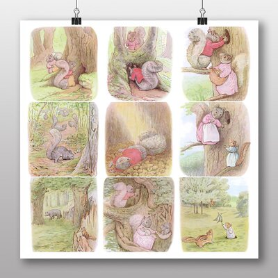 Big Box Art 'The Tale of Timmy Tip Toes' by Beatrix Potter Graphic Art