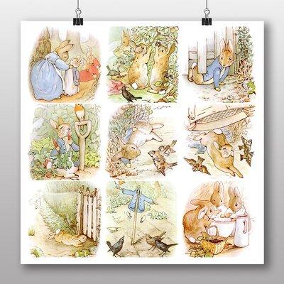 Big Box Art 'The Tale of Peter Rabbit No.2' by Beatrix Potter Art Print