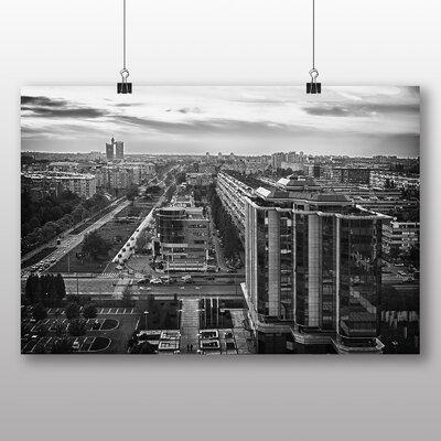 Big Box Art Belgrade Serbia Photographic Print