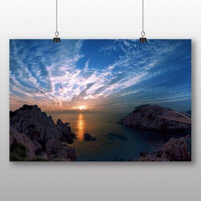 Big Box Art Beautiful Sunrise No.1 Photographic Print Wrapped on Canvas
