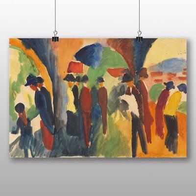 Big Box Art 'Crowd of People' by August Macke Art Print