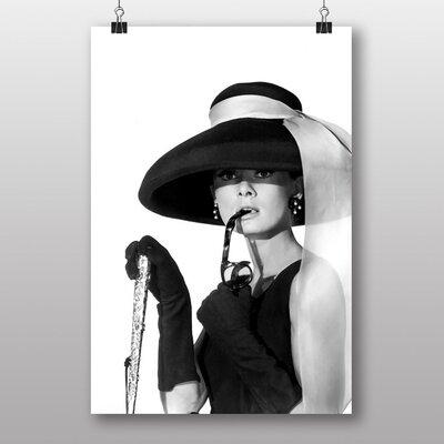 Big Box Art Audrey Hepburn No.8 Photographic Print Wrapped on Canvas