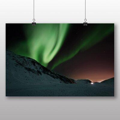 Big Box Art Aurora Borealis The Northern Lights No.2 Photographic Print on Canvas