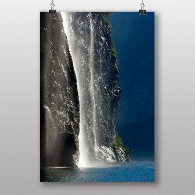 Big Box Art Beautiful Waterfall No.1 Photographic Print