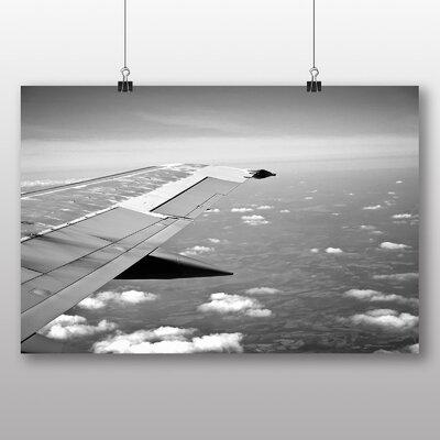 Big Box Art 'Aeroplane Wing' Photographic Print