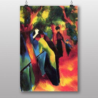 "Big Box Art ""Sunny Way"" by August Macke Art Print"