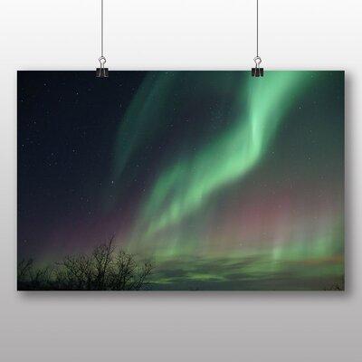 Big Box Art Aurora Borealis the Northern Lights Graphic Art