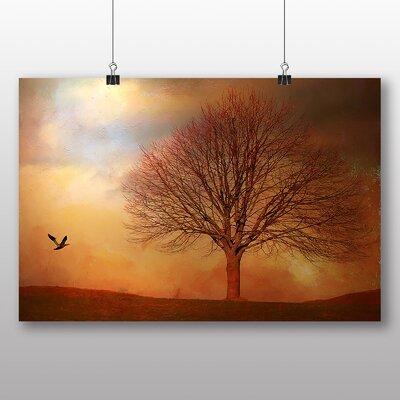 Big Box Art Bird and Tree No.2 Art Print Wrapped on Canvas