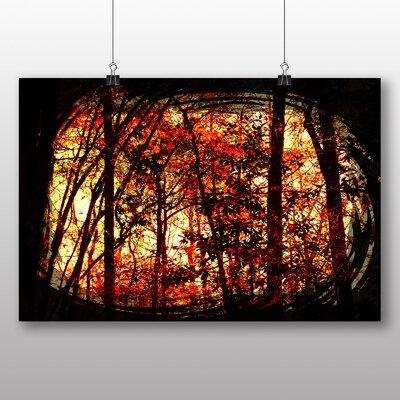 Big Box Art Autumn Forest No.7 Photographic Print on Canvas