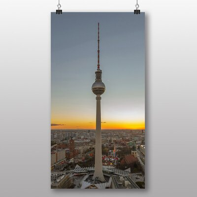 Big Box Art Berlin Fernsehturm Germany Photographic Print