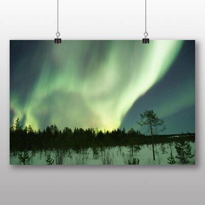Big Box Art Aurora Borealis The Northern Lights No.15 Graphic Art on Canvas