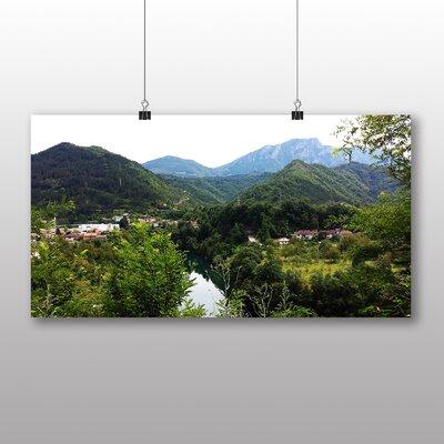 Big Box Art Bosnia and Herzegovina Photographic Print on Canvas