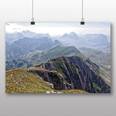 Big Box Art Big Mountain Ridge Photographic Print