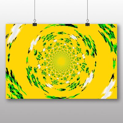 Big Box Art Abstract Design No.4 Graphic Art Wrapped on Canvas
