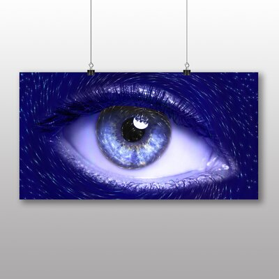 Big Box Art Blue Eye Graphic Art