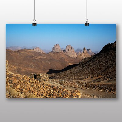 Big Box Art Algeria No.2 Photographic Print on Canvas