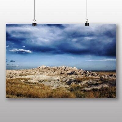 Big Box Art Badlands South Dakota USA Photographic Print on Canvas