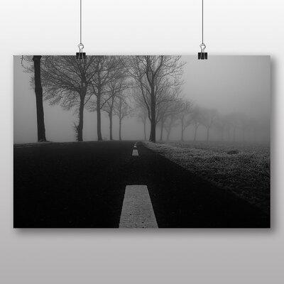 Big Box Art 'Autumn Trees No.1' Photographic Print