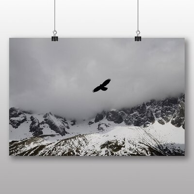 Big Box Art Bird Flying High Photographic Print Wrapped on Canvas