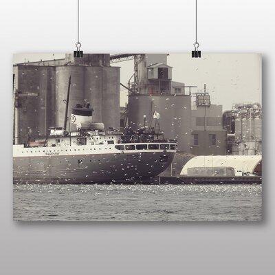Big Box Art 'Boat at Port' Photographic Print
