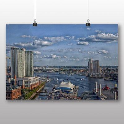Big Box Art Baltimore Maryland USA No.1 Photographic Print