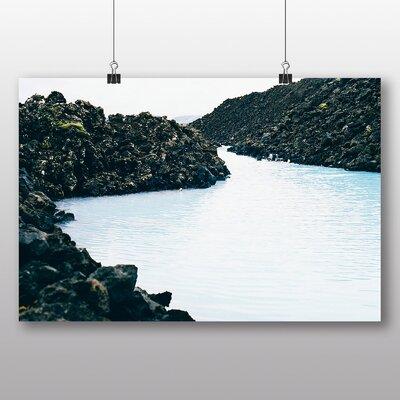 Big Box Art 'Blue Lagoon' Photographic Print